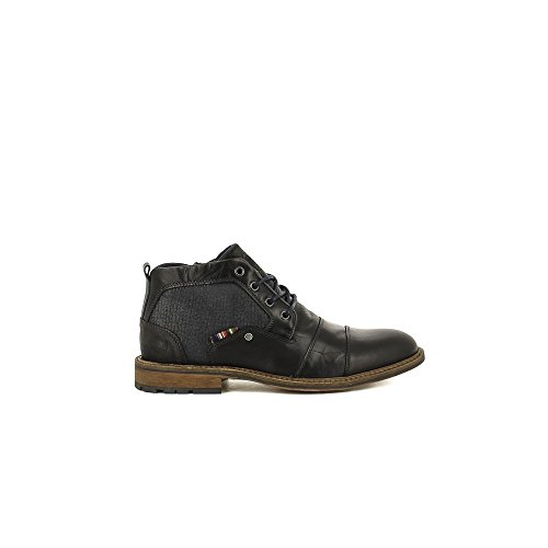 Bullboxer 710-K5-5435A Zapatos de cordones Hombre negro, EU 44
