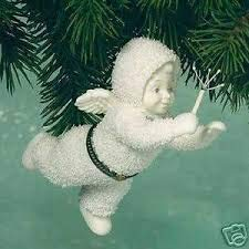 - Department 56 Snowbabies Tooth Fairy Bisque Hinged Box Ornament