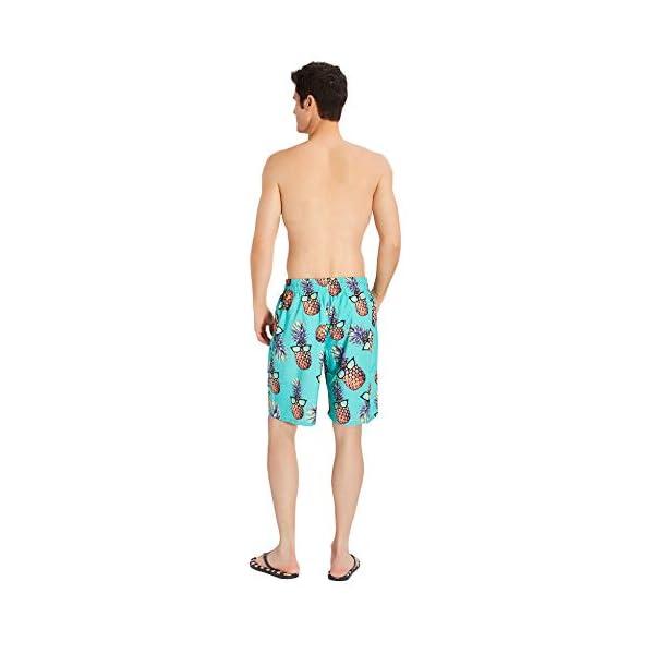 TUONROAD Costumi Uomo Mare 3D Stampato Bermuda da Bagno Asciugatura Rapida Costume Surf Pantaloncini S-3XL 5 spesavip