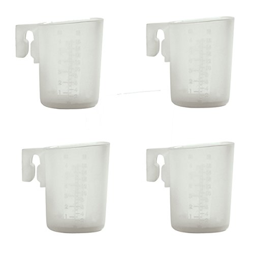 Silicone Mini 3oz / 90ml Measuring Cup, Set of 4
