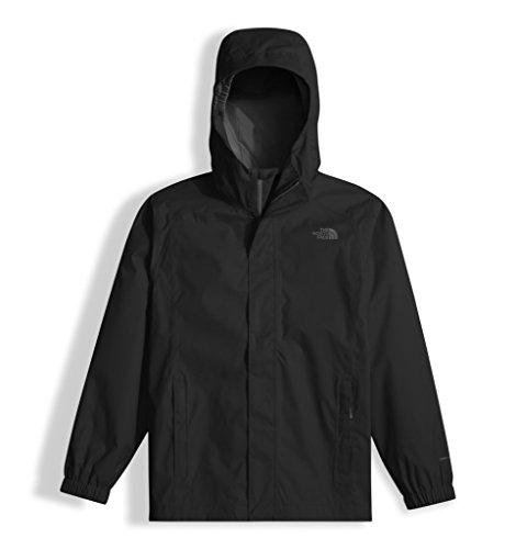 The North Face Boys Resolve Reflective Jacket Black (Large)
