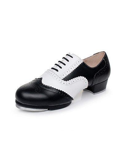 ShangYi Keine Maßfertigung möglich - Niedriger Heel - Leder - Tapdance - Damen / Herren Navy