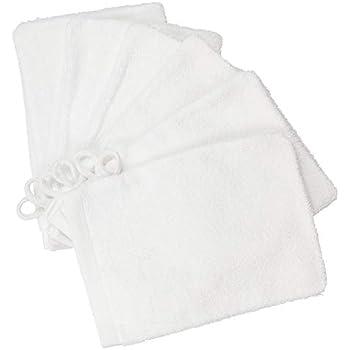 25 x IKEA Krama  White Cotton Facecloth  Washcloth Baby Face Towel  PROMOTIONAL