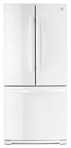 Kenmore 73002 19.5 cu. ft. Wide French Door Bottom Freezer Refrigerator in White -Works with Alexa,  includes delivery and hookup