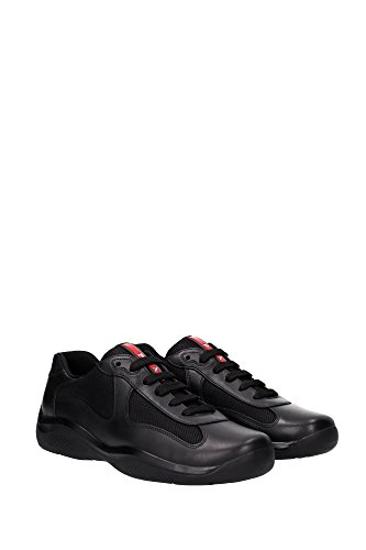 Sneakers Prada Herren - (4E2043NERO) EU Schwarz