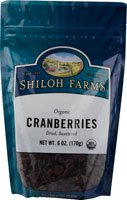 Shiloh Farms Organic Cranberries -- 6 oz
