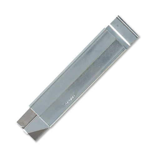 S.P. Richards Company Razor Knife, 1 x 3 Inches, Uses Retractable/Reversible Single Blades (SPR01484), Office Central