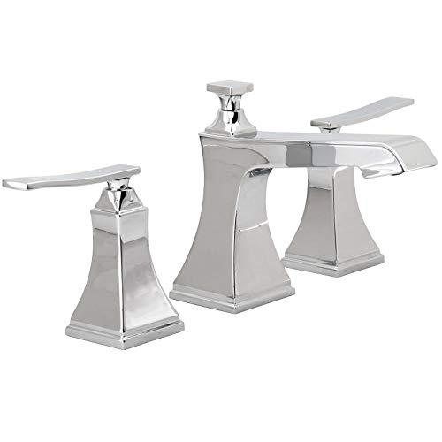 (Miseno ML801 Elysa-B Widespread Bathroom Faucet - Includes Pop-Up Drain Assembly)