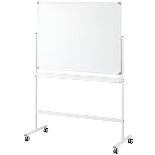 [해외]아이리스 チトセ 화이트 보드 각 부 양면 무지 폭 1200 × 높이 900 KJWR-1290 / Iris Chitse White board with leg two-sided plain width 1200 × height 900 KJWR-1290