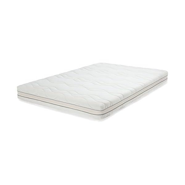AmazonBasics - Materasso extra comfort a 7 zone in memory foam, Medio (H3) - 80 x 190 cm 1 spesavip
