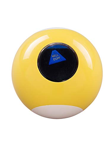 Ridley's Sarcastic Sassy 9 Fortune Teller Psychic Mystic Novelty Answer Ball