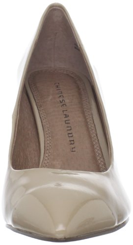 Chinese Wasserij Womens Area Pump Nude Patent