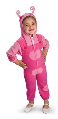 Backyardigans Deluxe Uniqua Child Costume (As Shown;Medium)