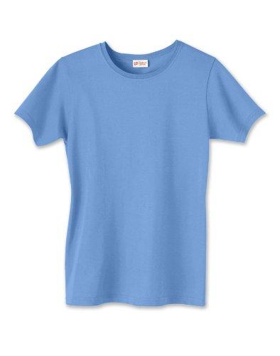 Hanes - Camiseta - Mujer azul vaquero
