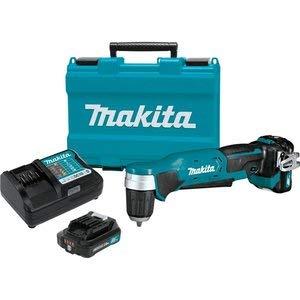 Makita AD04R1 12V max CXT Right Angle Drill Kit, 3/8 inch