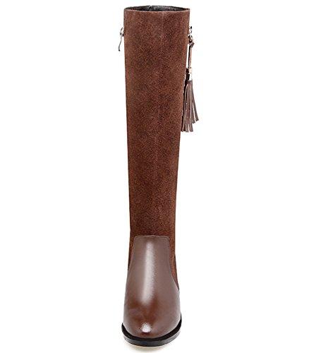 Nine SevenKnee-high-boots - Botas mujer marrón