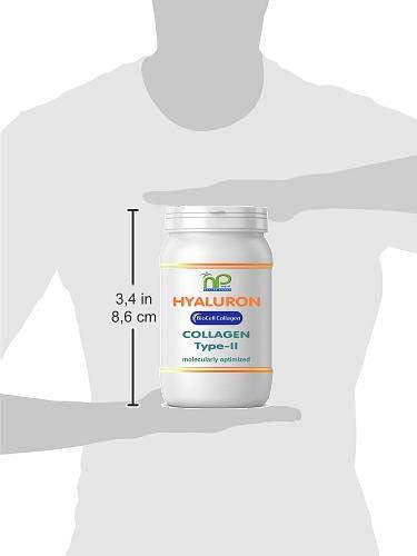 Biocell Collagen® o Collagen Express en cápsulas (con colágeno-II, ácido hialurónico, vitamina C y manganeso) 1000 mg de colágeno / día para la piel, ...