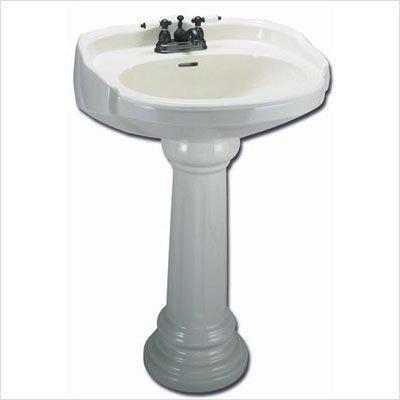 Bisque Pedestal - Elizabethan Classics ECABPEDBI Aberdeen Pedestal, Bisque