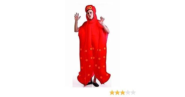 Disfraz de Pulpo rojo para adultos: Amazon.es: Juguetes y juegos