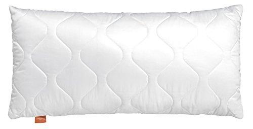 sleepling 190005 Basic 100 Kopfkissen Mikrofaser 40 x 60 cm, weiß