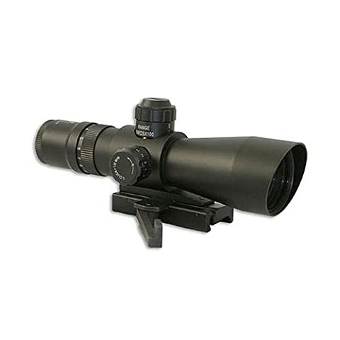 NcStar Mark III Tactical Mil-Dot 3-9X42/Scope Adaptor Mount/Red Dot Combo Package (STM3942G/D) (3 8 Scope Mount Adapter)