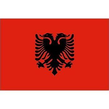 Amazoncom Albania Flag X Ft Nylon SolarGuard NylGlo - Albania flag