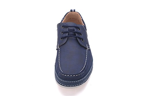 Beverly St Mens Dress Shoes (sanger 04) Blu Scuro