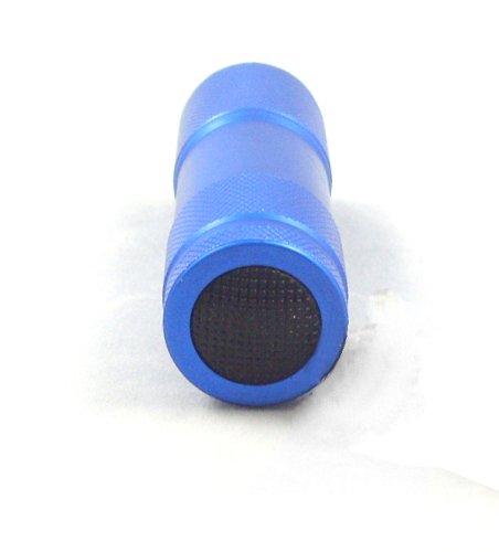 Maxworks 30204 3-1/2-Inch Nine LED Aluminum Flashlights, 8-Pack