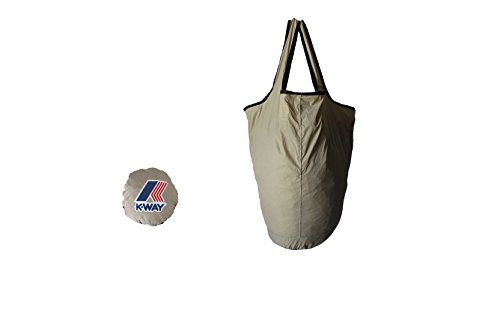 K-WAY BORSA SACCHETTO LE VRAI 3.0 SHOPPER beige sabbia