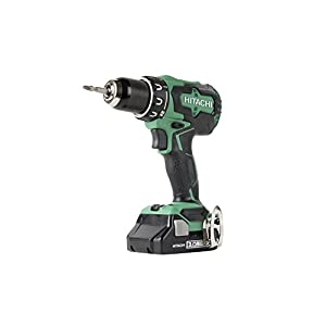 Hitachi DS18DBFL2S 18V Cordless Lithium Ion Brushless High Torque Driver Drill (Includes One 3.0Ah Compact Battery)