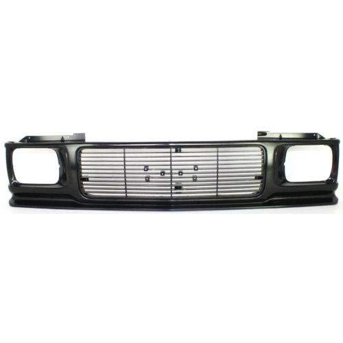 Go-Parts ª OE Replacement for 1991-1994 GMC S15 Jimmy/Envoy Grille Assembly 15661740 GM1200230