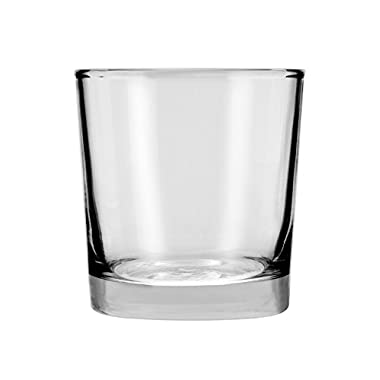 Anchor Hocking Heavy Base Rocks Old Fashioned Whiskey Glasses, 9 oz (Set of 12)