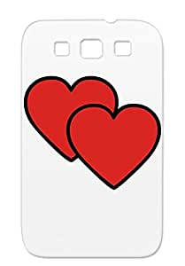 Heart5 Red TPU Women Love For Sumsang Galaxy S3 Protective Case