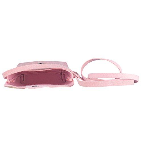 ffb33f5ede22 Deoot Little Girls Purses Pink Cute Cat Shoulder Crossbody Bag - Import It  All
