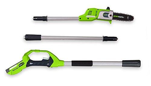 Sparen Sie bei Greenworks 40V Akku-Kettensäge 30cm (ohne Akku und Ladegerät) - 20117 und mehr