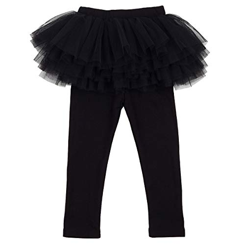 Slowera Little Girls Footless Leggings with Tutu Skirt for sale  Delivered anywhere in USA