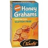Pamelas Mini Honey Grahams, 7 Ounce - 6 per case.