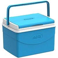 Cosmoplast MFIBXX089B2 Keep Cold Plastic Picnic Cooler Icebox Lunchbox 5 Liters - Blue