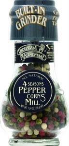 Drogheria & Alimentari All Natural Spice Grinder Four Seasons Peppercorns