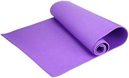 sahnah 6mm Universal Thick Non-Slip Yoga Mat Exercise Pad Fitness Lose Weight 180cmX60cmX0.6cm Non-skid Floor Play Mat