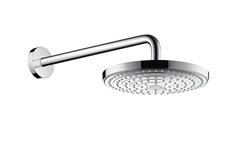 hansgrohe Raindance Select S 240 overhead shower with 390 mm shower arm, 2...