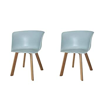 Ventamueblesonline Pack 2 SILLONES Winter Wood Aguamarina ...