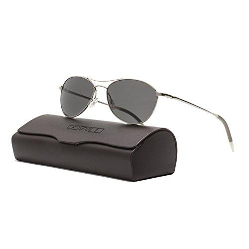 OLIVER PEOPLES AERO OV1005S 54mm Silver VFX Polarized Graphite Sunglasses - Oliver Vfx Peoples Polarized
