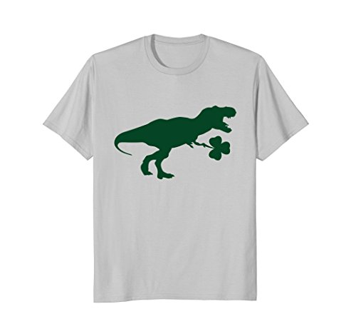 Lucky Dinosaur Shirt, Funny Cute Kids St. Patrick's Day Gift