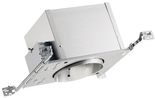 Juno Lighting ICPL926-42-DB120 6-Inch IC Rated Standard Slope CFL Housing, 120V HPF Dimmable Ballast ()