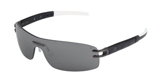 Tag Heuer L-Type LW 0452 Sunglasses Alligator Matte Black / - Heuer L Tag Sunglasses Type