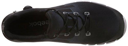 Reebok ZPump Fusion Sneaker hombre zapatilla deporte zapatos sport Negro