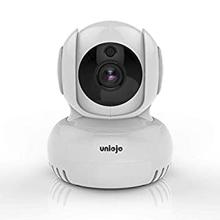 Baby Monitor,UNIOJO 1080P WiFi Camera Compatible with Alexa, Motion Detection, 2-Way Audio,Night Vision,with iOS, Android App - Cloud Service Available