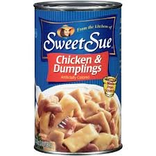 Sweet Sue Chicken & Dumplings 48oz Can (Pack of 4)