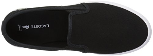 Lacoste Women's Gazon Bl 2 Shoe, black, 6.5 M US